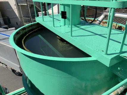 メッキ工場排水システム塗装